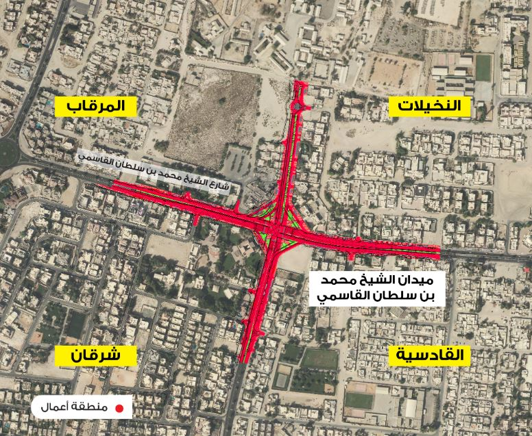 sharjah routes